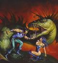 JB 1992 sabre toothed snake