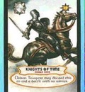 BV extra  cards  knights of time