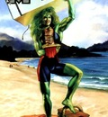 JB extra  marvel masterpiece  she hulk