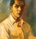 BV 1956 young boris (self portrait)