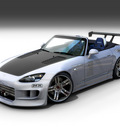 Honda S2000 Custom Front View by dangeruss