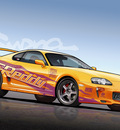 Toyota Supra   Vector by dangeruss
