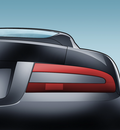 Aston Martin DB9 Rear View by RichieC