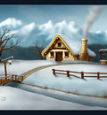 Seasons   Winter by geci