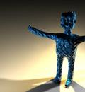 Blue Gumby by JOE02151