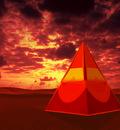 Metal Pyramid by kingcobra