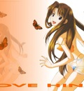 NARU BUTTERFLIES by raven  (Anime Wallpaper)