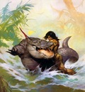 frank frazetta monsteroutoftime