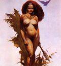 frank frazetta primitivebeauty