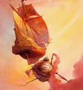 frank frazetta thegalleon