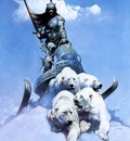 frank frazetta thesilverwarrior