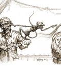 pirates monkey