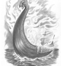 viking ship P P