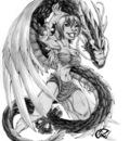 Dragon and Angel by BiggCaZ