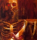 bob eggleton crucified vampire