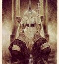 luis royo tarot el sumo sacerdote