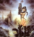 luis royo black scorpion and the raiders of the doom