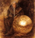 luis royo king of pentacles