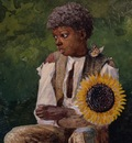 Taking Sunflower to Teacher, Winslow Homer