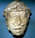 Palenque Clay Head