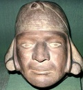 Peruvian Mochica Head Portrait, Chicago Art Institute, Illinois