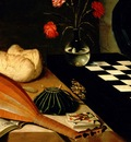 Still Life With a Chess Board, Lubin Baugin