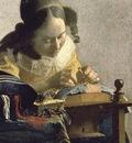 The Lacemaker, Jan Vermeer