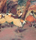 Before the Performance, Degas