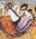 russian dancers, degas,