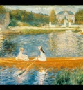 the seine at asnieres, renoir,