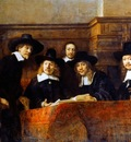 The Syndics of the Clothmaker s Guild (The Staalmeesters), Rembrandt van Rijn
