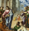 The Miracle of Christ Healing the Blind, El Greco