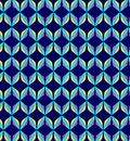 Aqua Diamond Pattern