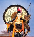 chris achilleos samurai girl