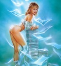 luis royo a thousand doves in dreams