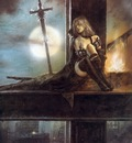 luis royo full moon