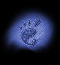 GNOME BlueSwirl 1280x1024