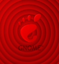 GNOME Red Spiral 1280x1024