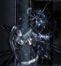 girl in machine
