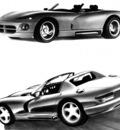 Dodge Vi+r Art Work BW