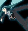 black hatsune miku kanzaki hiro twintails vocaloid