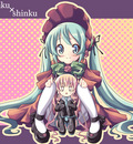 cosplay hatsune miku rozen maiden shinku vocaloid