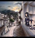 Hinata   colored by MeganeRid