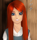 Kushina redhaired Beauty by harukra