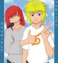 Uzumaki Kushina and Minato by felipexD