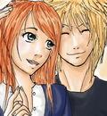 yondaime and kushina by kahoku3105