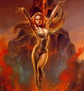 Boris Vallejo   Volcanos Fire