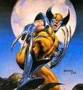Boris Vallejo   X Men  Full Moon