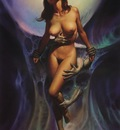 Boris Vallejo    Beckoning Dreams