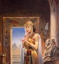 Boris Vallejo   egyptian princess